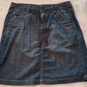 Eddie Bauer Denim Skirt